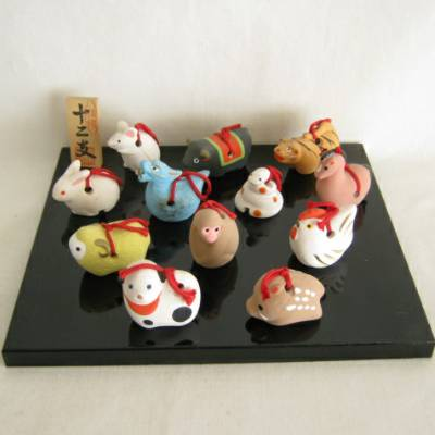 Zodiac Clay Bell Set (#30976)